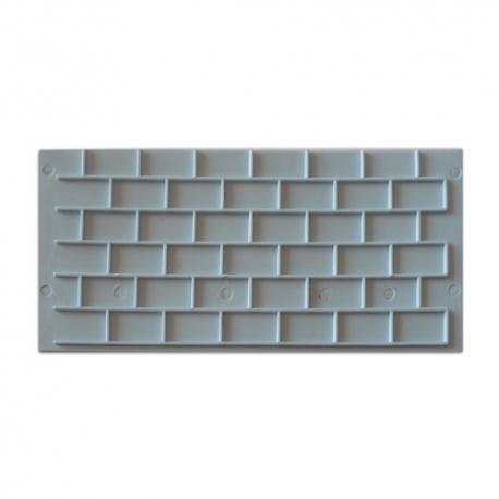 textura ladrillo con fondant