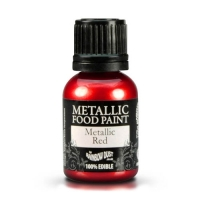 pintura comestible roja