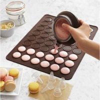 mantel para hornear macarons