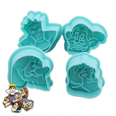 cortador galletas Blancanieves