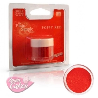 COLORANTE COMESTIBLE ROJO RAINBOW DUST POPPY RED