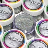 RAINBOW DUST SILVER HOLOGRAM