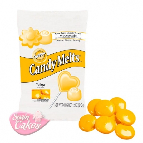 CANDY MELTS AMARILLOS