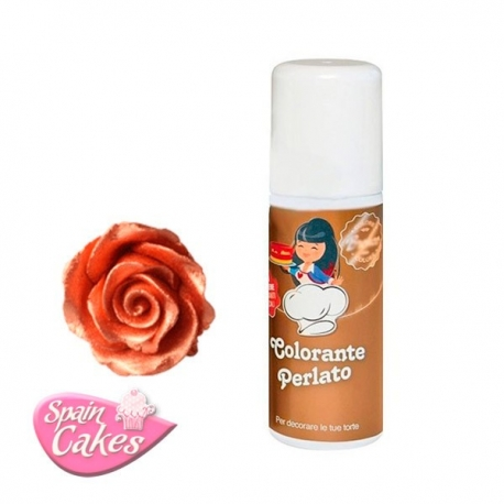 SPRAY COMESTIBLE BRONCE SOLCHIM