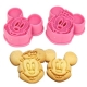 MICKEY & MINNIE - SET DE 2 CORTADORES