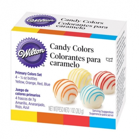 COLORANTES PARA CHOCOLATE (CANDY COLORS)
